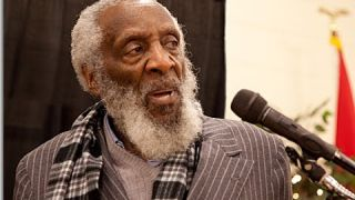 Dick Gregory speaks on St. Louis Protests and State of Black America